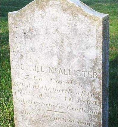 mcallister grave