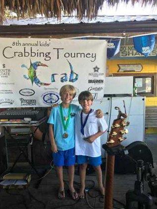 Crabbing winners