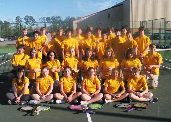 RHHS tennis teams