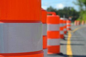 road work-barrels