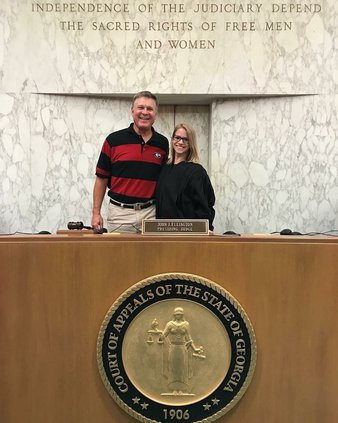 Clerkship Elizabeth Pirkle and Judge Ellington