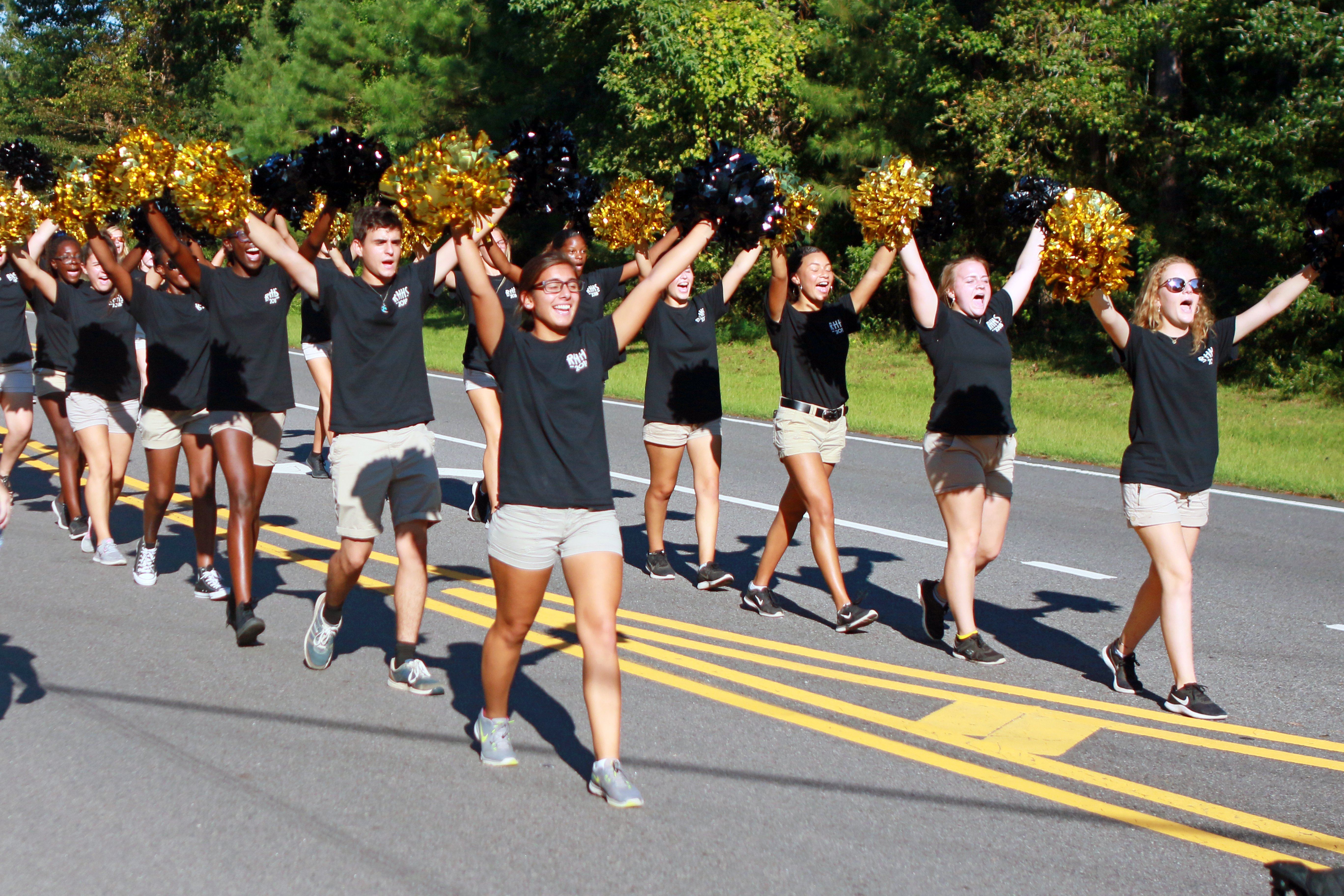 2018 Richmond Hill High School Homecoming Parade. Photo by Bryan Browning.