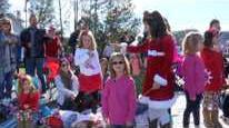 Christmas Parade Draws Large Crowd