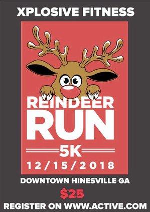 Reindeer Run artwork