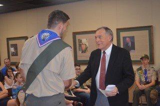 Eagle Scout, mayor