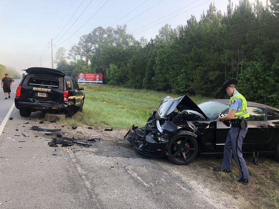 Deputy injured in car accident - Coastal Courier