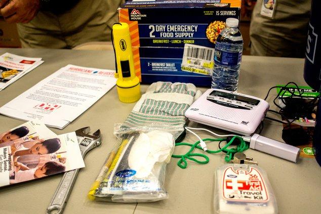 Hurricane preparedness materials