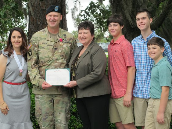 Wolter to Loganchange of command
