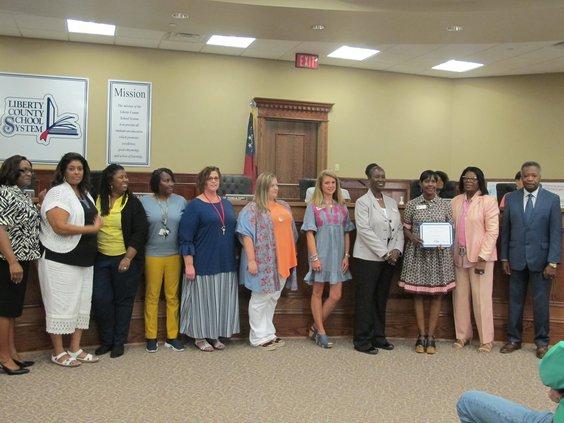 Button Gwinnett Elementary School STEM grant