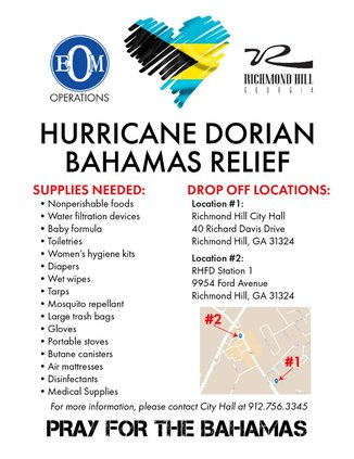 supply drive for bahamas