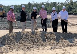 CZM breaks ground