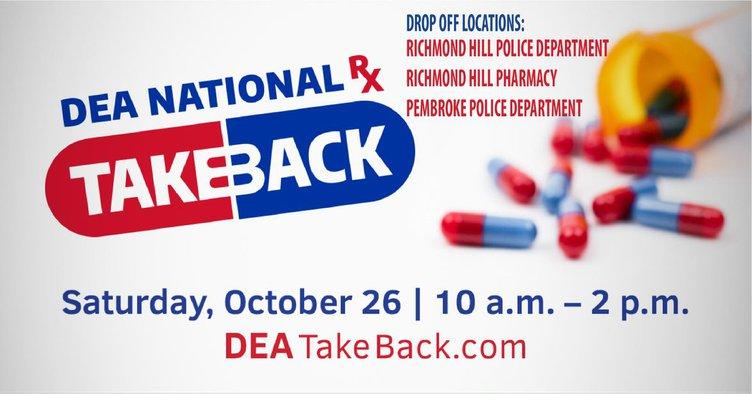 Drug take back day 2019
