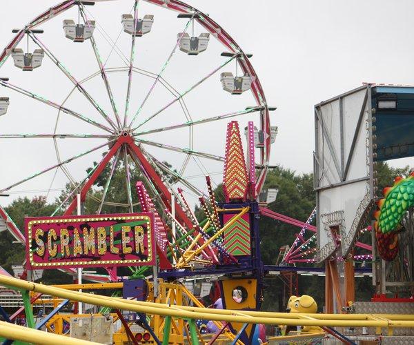 Ferris wheel seafood festival