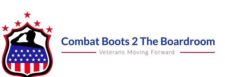 Combat boots 2 the boardroom logo