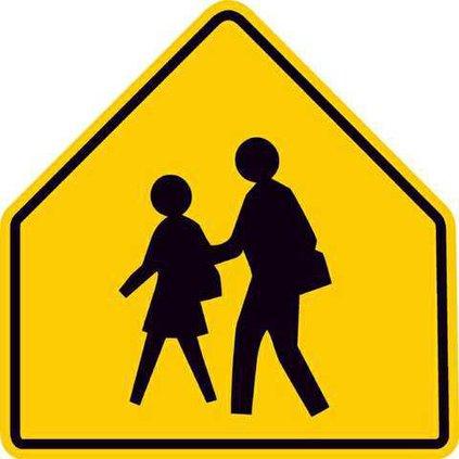 school zone sign