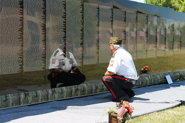 Vietnam War Moving Wall