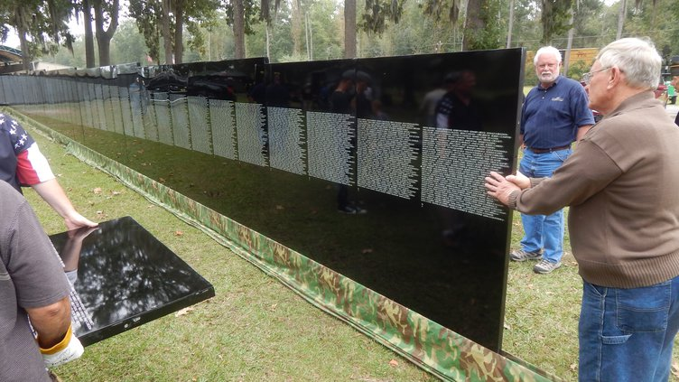 Vietnam War Moving Wall Richmond Hill