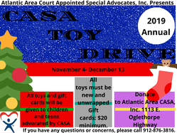 CASA toy Drive