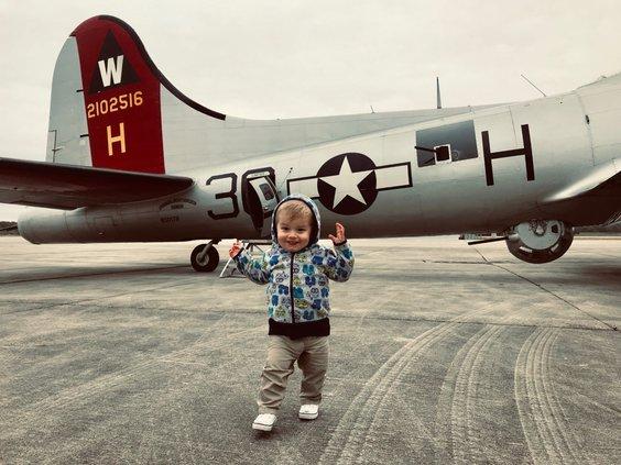 B-18 bomber Alex Floyd 1