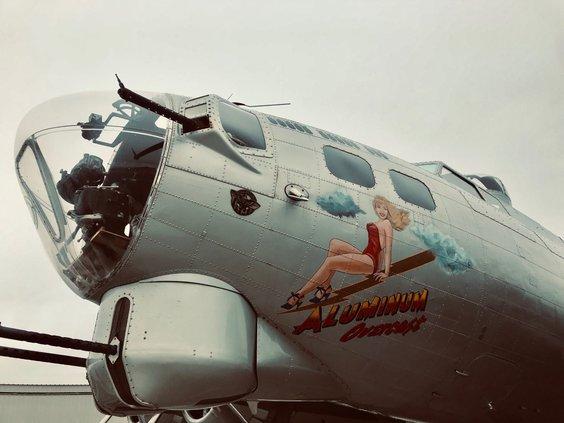 B-17 bomber Alex Floyd 2