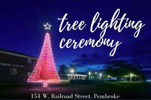Pembroke tree lighting graphic