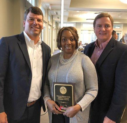 Daphanie Harris, Chamber Ambassador of the Year
