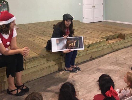 Richmond Hill Community Theatre reading